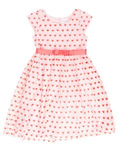 Origami - Pretty Primrose Mesh Dress in sizes 3-8 OGF095