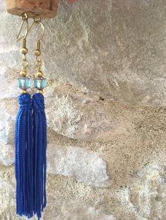 Items similar to LA tassel earrings Tassel Earrings, Drop Earrings, Handmade Jewelry, Unique Jewelry, Handmade Gifts, Bangle Bracelets, Bangles, Jewelry Rings, Jewellery