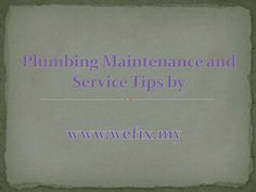 Home Repair Services, Plumbing, Presentation, Math, Tips, Math Resources, Mathematics, Counseling