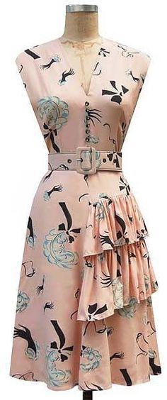 Trashy Diva Sadie Ruffle Slap & Tickle Pink Dress Size 12! Worn once AS IS! #TrashyDiva #VintageReproduction