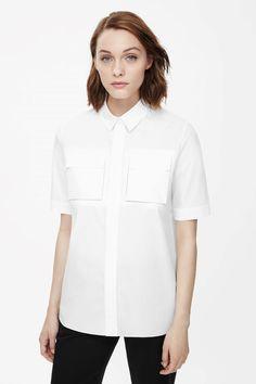 COS square pocket shirt