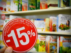 Per tutto aprile 2015, -15% sulle pubblicazioni della Macro Edizioni.