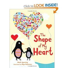 Book, The Shape of My Heart by Mark Sperring