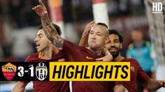 The Football Match Between Roma vs Juventus. After a Very Poor Performance by Juventus, The Final Result of The Game is Roma Juventus. Watch Football, Football Match, Italian League, Match Highlights