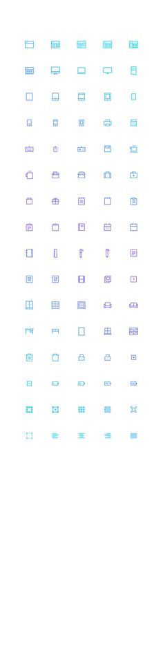 Freebie: Pixelvicon Icon Set (80 Icons) on Behance