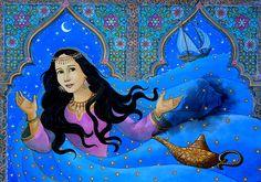 Arabian Nights by Veruschka Guerra