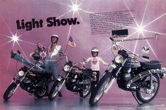 AMF Harley-Davidson Z-90, X-90 & SX-125, USA, 1975