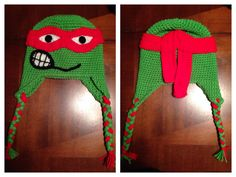 My red Ninja Turtle!