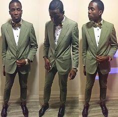 African bow tie | Feature Friday | @_lickmyfashion_ | Love Lakeri, Toronto, Canada | Uganda, Kampala