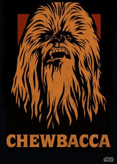 Star Wars Chewbacca Wookie Large Wall Art Large Poster Print A0 A1 A2 A3 A4 Maxi