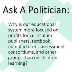 And THAT is a question we should be asking! (lobbyists would disagree)