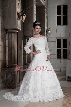 Wedding Dress Long Sleeves