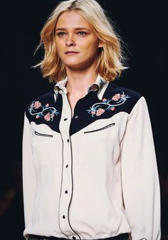 New Season Must-Have: Isabel Marant's Western Shirt | The Front Row View