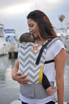 Gray Zig Zag - Tula Ergonomic Baby Carrier This is great! And will match that diaper bag I'm obsessed with!