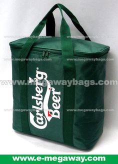 Carlsberg Beer Promotional Cooler Bags Pls contact #MegawayBags at megaway@pacific.net.hk for details.