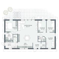 Tidlös 01 Planer, Building A House, Floor Plans, Construction, Flooring, How To Plan, Architecture, Apartments, Alternative