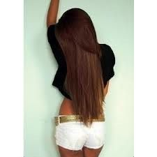 """Human Hair Blend // 18"""" Clip-In Hair Extensions * 8 pcs Extensions * 200 grams of hair * Many Colors Avaliable // Straight Extensions"""