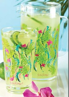 Lilly Pulitzer Pitcher