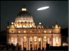 """A huge UFO hovered over the Vatican as he lay in state; it was widely reported in the """"mainstream"""" news. Description from shroudstory.com. I searched for this on bing.com/images"""