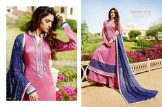 Wadd richer looks to your persona in this pink and blue pure bamberg viscose georgette designer churidar suit. The ethnic embroidered and lace work on the attire adds a sign of beauty statement to your look. Comes with matching bottom and dupatta. (slight variation in color, fabric & work is possible. Model images are only representative.) http://www.divineboutique.in/home/2076-thrilling-pink-and-blue-churidar-salwar-suit-1114.html #SalwarSuitsOnlineFiji #SalwarSuitsSingaore…