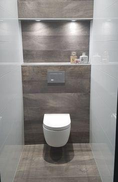 Meuble Wc Castorama with Wc Suspendu … Of Meuble Wc Ikea Meuble Wc Suspendu 10 Messages Source Small Bathroom Colors, Bathroom Design Small, Bath Design, Bad Inspiration, Bathroom Inspiration, Bathroom Ideas, Bathroom Layout, Mold In Bathroom, Toilet Room