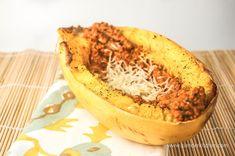 Spaghetti Squash with Healthy Romesco   Slender Kitchen