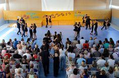 Bailes de salón en la Fiesta de Fin de Curso 2017 de #ColegiosISP  #SecundariaISP¡Bravo a cada uno de nuestros alumnos! ¡Habéis estado geniales!!