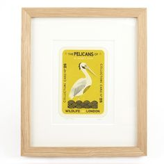 V&A The Pelicans of St James's Park - Tom Frost (Ltd Edition Framed Print)||EVAEX : All