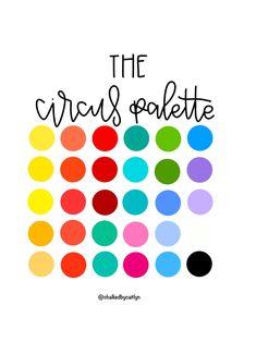 Rainbow Palette, Palette Art, Color Palate, Saturated Color, Color Stories, Color Swatches, Coloring For Kids, Color Theory, Branding