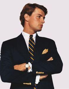 Old Ralph Lauren Adverts Modern Gentleman, Gentleman Style, Preppy Mens Fashion, Preppy Style Men, Men's Fashion, 2000s Fashion, Fashion Pants, Estilo Preppy, Preppy Boys