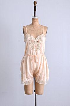 vintage 1920s lingerie 1920s teddy step-in by PickledVintage