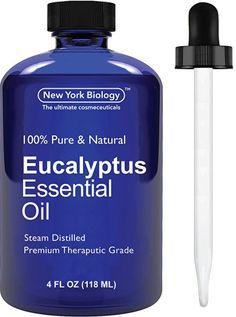 Eucalyptus Oil - Big 4 Oz - 100% Premium Quality - Premium Therapeutic Grade…