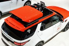 land rover's 'project hero' for the red cross comes with a roof-mounted drone