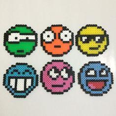 Smiley hama beads by hamabeadspain:
