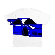 Fast Car Mens All Over Print T-Shirt on CafePress.com