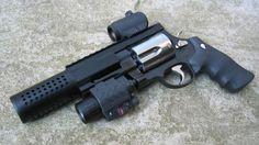 Knight's Armament suppressed SW .500 revolver