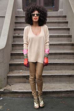 Solange Knowles - Today I'm Wearing - Day 3