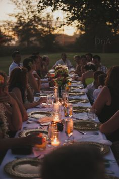Wedding Portraits - DnA Wylie Photography Sacramento/San Diego/Kauai  Kinfolk dinner, family style table, dyi, candle light