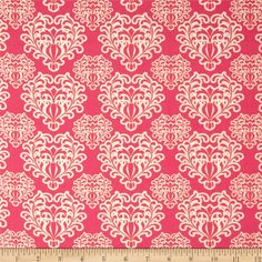 Art Gallery Essentials Passionate Spirit Berry from @fabricdotcom  Designed by Pat Bravo for Art Gallery Fabrics, this cotton print is perfect for quilting, apparel and home decor accents.  Colors include pink and white.  Art Gallery Fabric features 200 thread count of finely woven cotton.