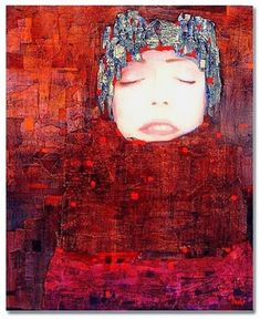 by Richard Burlet Figure Painting, Painting & Drawing, Richard Burlet, Neo Rauch, Figurative Kunst, Gustav Klimt, Oeuvre D'art, Love Art, Mixed Media Art