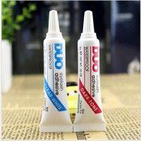 Клей для накладных ресниц DUO eyelash adhesive, черный, белый (прозрачный).