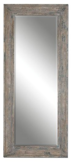 Uttermost 13830 Missoula Distressed Leaner Mirror Heavily Distressed Slate Blue Home Decor Mirrors Wall Mirror Green Wall Mirrors, Uttermost Mirrors, Leaner Mirror, Home Decor Mirrors, Rustic Mirrors, Blue Home Decor, Coastal Decor, Aging Wood, Floor Mirror