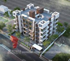 Landscape Architecture Model, Residential Architecture, Architecture Design, Modern Exterior House Designs, Hotel Concept, Apartment Design, Apartment Ideas, House Design Photos, Cool Apartments
