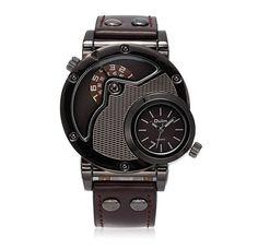 71f05e01c20 Unique Design Leather Watch. Casual WatchesMen s ...