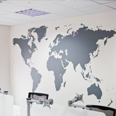 Giant world map wall decal map wall stencils abstract world map giant world map wall decal map wall stencils abstract world map mural dotted world map wall stencil pinterest modern wall decals wall stenciling and gumiabroncs Choice Image