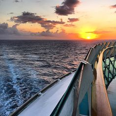 Sunset views from Independence of the Seas.