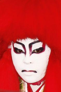 Kabuki actor, Japan by Eric Lafforgue, via Flickr