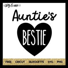 Adorable SVG that is perfect to make a DIY onesie or shirt for your niece or nephew that you adore! In fact, you could easily customize the design to say Grandma or Mom instead. Compatible with Cricut, Silhouette and other cutting machines. Don't miss the rest of our huge free svgs library either!