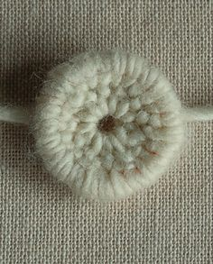 crochet button, purl bee