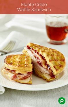 There's way too much awesome crammed into the Monte Cristo Waffle Sandwich recipe, but you can handle it.